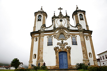 Igreja de Nossa Senhora do Carmo (Our Lady of Mount Carmel) church, Ouro Preto, UNESCO World Heritage Site, Minas Gerais, Brazil, South America
