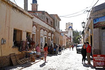 Street scene in Humahuaca, Quebrada de Humahuaca, Jujuy Province, Argentina, South America