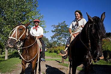 Gauchos at Estancia Los Potreros, Cordoba Province, Argentina, South America