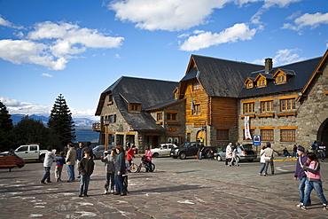 Cenro Civico, the main town hall in Bariloche, Patagonia, Argentina, South America