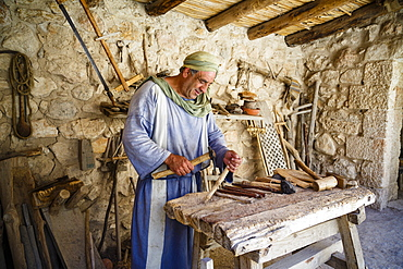 Nazareth Village, recreating Nazareth in the time of Jesus, Nazareth, Lower Galilee region, Israel, Middle East