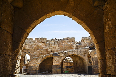 Belvoir Crusader fortress, Lower Galilee region, Israel, Middle East