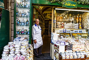 Delicatessen shop, Stresa, Lake Maggiore, Piedmont, Italy, Europe