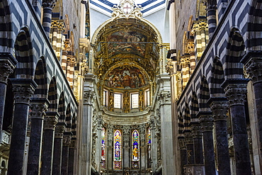 San Lorenzo Cathedral, Genoa, Liguria, Italy, Europe