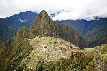 Machu Picchu, UNESCO World Heritage Site, Peru, South America
