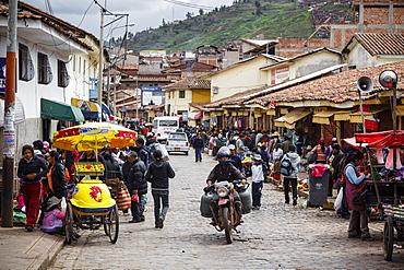 Street scene, Cuzco, Peru, South America