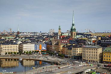 Skyline of Stockholm, Sweden, Scandinavia, Europe