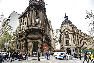 The Stock Exchange building, Santiago, Chile, South America