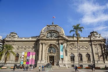 Museo Nacional de Bellas Artes (Chilean National Museum of Fine Arts), Santiago, Chile, South America