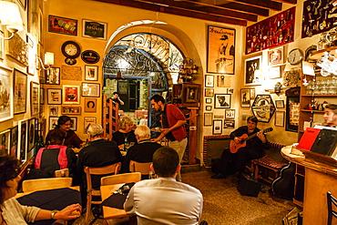 Barood Bar and Restaurant on Jaffa Street, Jerusalem, Israel, Middle East
