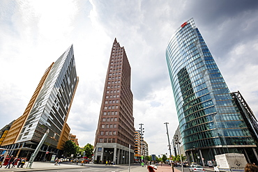 Buildings on Potsdamer Platz, Mitte, Berlin, Germany, Europe