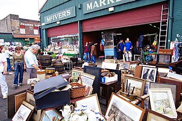 Barras Flea Market on Saturdays, Glasgow, Scotland, United Kingdom, Europe