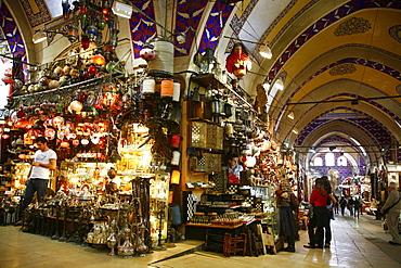 The Grand Bazaar (Kapali Carsi), Istanbul, Turkey, Europe