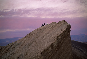 Valle de la Luna (Moon Valley), surreal landscape near San Pedro de Atacama in the north of the country, Chile, South America