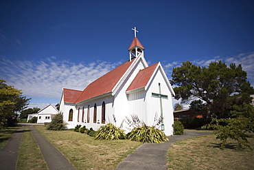 All Saints Anglican Church, Foxton, North Island, New Zealand, Pacific