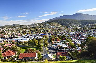 View of Hobart, Tasmania, Australia, Pacific