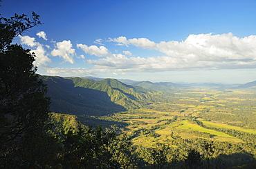 View of Finch Hatton and Pioneer Valley, Eungella, Queensland, Australia, Pacific