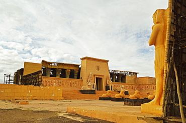 Movie set, Atlas Studios, Ouarzazate, Morocco, North Africa, Africa