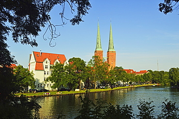 Old Town of Lubeck, UNESCO World Heritage Site, Schleswig-Holstein, Germany, Europe