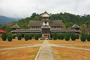 Istana Lama (Old Palace), Sri Menanti, Malaysia, Southeast Asia, Asia