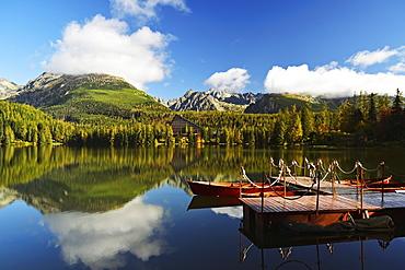 Strbske Pleso, High Tatras (Vysoke Tatry), Slovakia, Europe