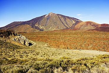 Pico del Teide, Parque Nacional del Teide, UNESCO World Heritage Site, Tenerife, Canary Islands, Spain, Europe