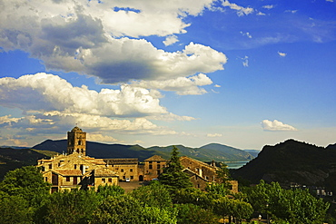 Old town of Ainsa, Huesca, Aragon, Spain, Europe