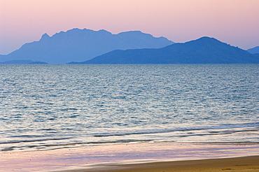 Hinchinbrook Island seen from South Mission Beach, Queensland, Australia, Pacific