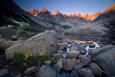 Cerro Catedral and Lago Toncek, Nahuel Huapi National Park, Bariloche, Patagonia, Argentina, South America