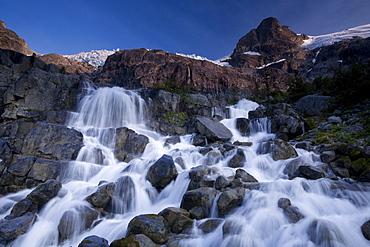 Landscape, Slalok Mountain, Joffre Lakes Provincial Park, British Columbia, Canada, North America