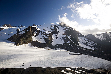 Mount Olympus and Blue Glacier, Olympic National Park, UNESCO World Heritage Site, Washington State, United States of America, North America