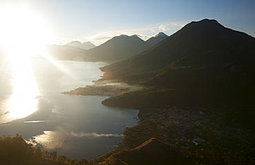 Lago Atitlan, Guatemala, Central America