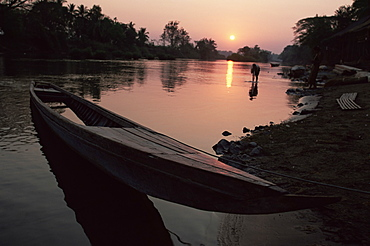 Mekong River and 4000 Islands, Laos, Indochina, Southeast Asia, Asia
