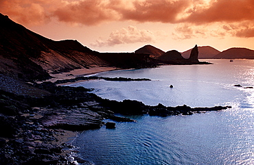 Galapagos island Bartholomé, Bartholomew, Ecuador, South America, Galápagos, Galapagos, Island, Pacific Ocean
