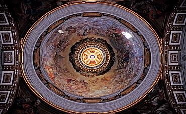 Vatican Dome Interior, Italy, Rome, Vatican City