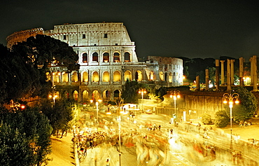 The Colosseum, Italy, Rome