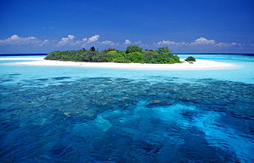 Dreamlike Island, Maldives, Indian Ocean, Meemu Atoll