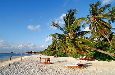 Maledivian Beach, Maldives, Indian Ocean, Medhufushi, Meemu Atoll