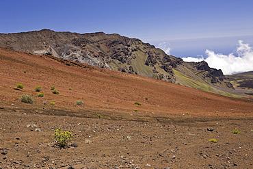 Crater of Haleakala Volcano, Maui, Hawaii, USA
