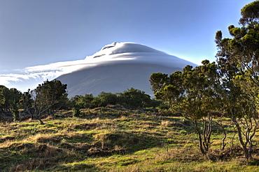 Volcano Mount Pico, Pico Island, Azores, Portugal