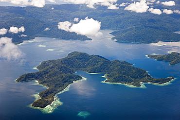 Islands near Sorong, Raja Ampat, West Papua, Indonesia
