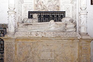 Interior, Cathedral Santa Maria la Menor, Santo Domingo, Dominican Republic, West Indies, Central America