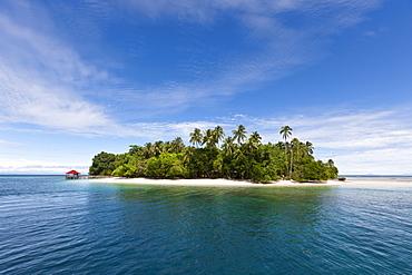 Ahe Island in Cenderawasih Bay, West Papua, Indonesia, Southeast Asia, Asia