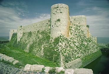 Krak des Chevaliers, Crusader Castle, Syria, Middle East