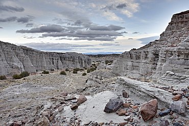 White rock badlands, Carson National Forest, New Mexico, United States of America, North America