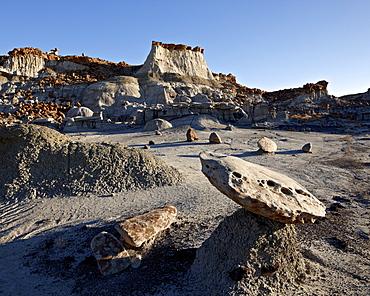 Badlands, Bisti Wilderness, New Mexico, United States of America, North America