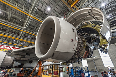 Iberia maintenance facility, Madrid, Spain, Europe