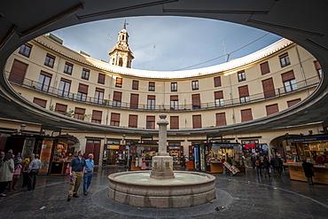 Placa Redonda (The Round Square), Valencia, Spain, Europe