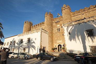 The Parador de Zafra, Zafra, Badajoz, Extremadura, Spain, Europe