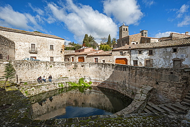 Historick cistern in Trujillo, Caceres, Extremadura, Spain, Europe